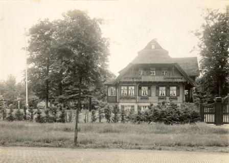 'Een der mooiste buitens in het bosch van Heiloo', dat in juli 1944 werd gesloopt.