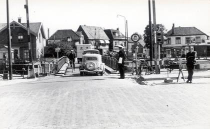 De 'brug der zuchten' rond 1950.