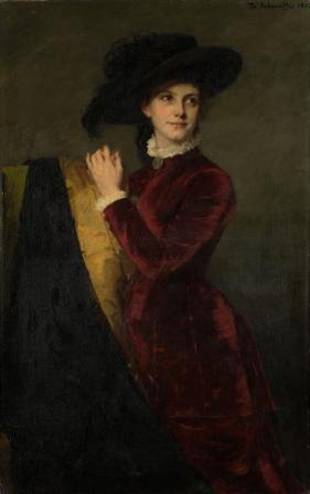 Catharina Josephina den Tex- Biben, Thérese Schwartze, 1882