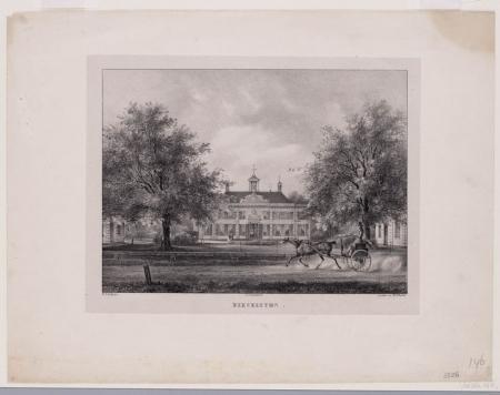 Landgoed Beeckestijn in de negentiende eeuw