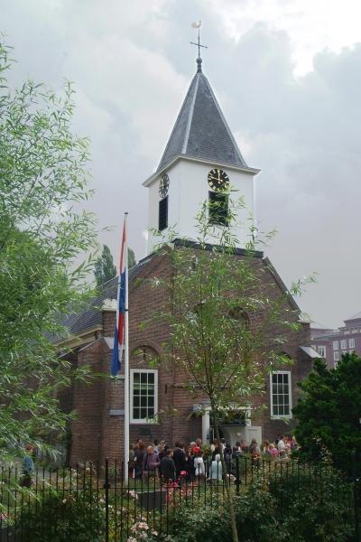 De Petruskerk tijdens een trouwerij.