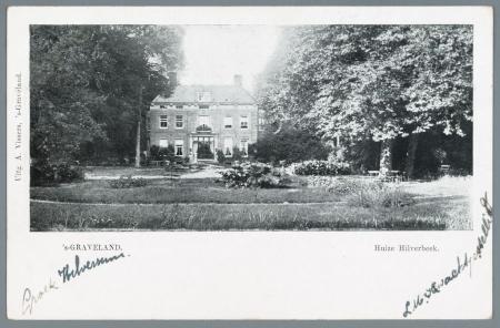 Huize Hilverbeek in 's-Graveland