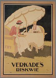 Affiche van Verkade, 1920.
