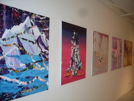 Werken van de kunstenaar Hidenori Mitsue.