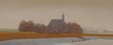 Detail Ariën van Waterland, 'Winter '81-'82 Schardam'.