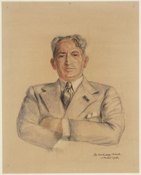 Abraham Asscher, 1942.