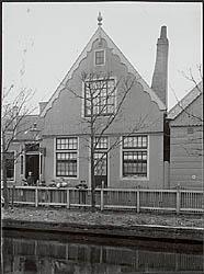 De bakkerij aan het Hazepad te Zaandijk, omstreeks 1920