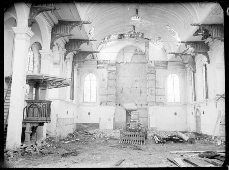 Sloop van de 19e-eeuwse kerk van Nieuwe Niedorp.