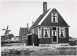 De wederopbouw op de Zaanse Schans, midden jaren zestig