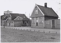 Het huisje aan het Meester Cornelispad 73 in Zaandam
