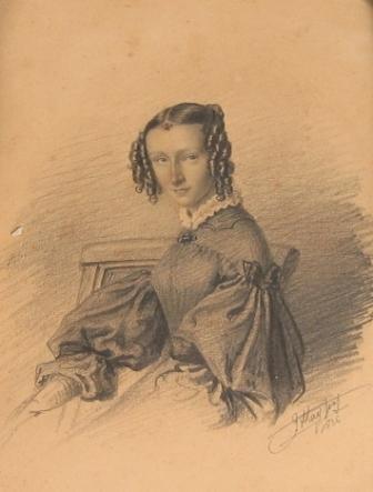 Freule Henriëtta Cornelia van Tets, eerste echtgenote van D.C. de Dieu.