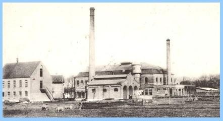 Melkfabriek Hollandia in 1920.