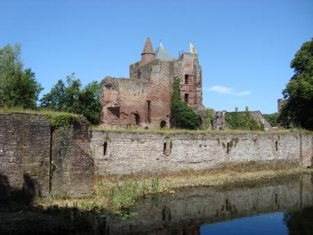 De kasteelruïne van Brederode.