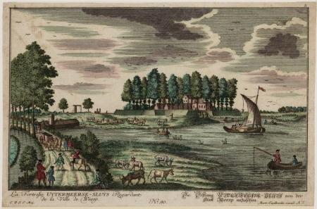 Fort Uytermeer in de 18e eeuw