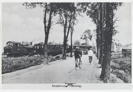 Trein naar Amstelveen