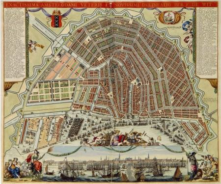 Amsterdam 2e helft 17e eeuw.
