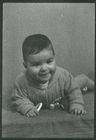 Ook Westers eigen kind ging op de foto.