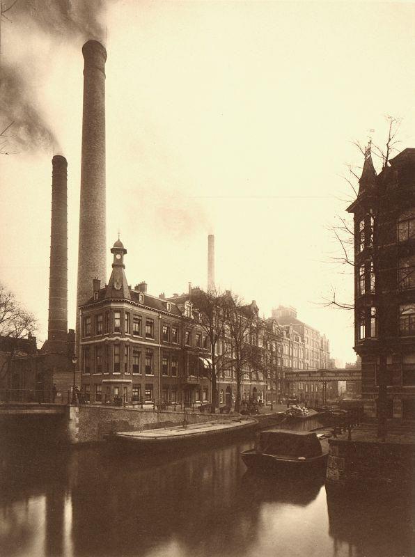 Het blok Lijnbaansgracht en Leidsegracht.