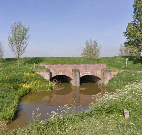 Damsluis in de Molentocht.