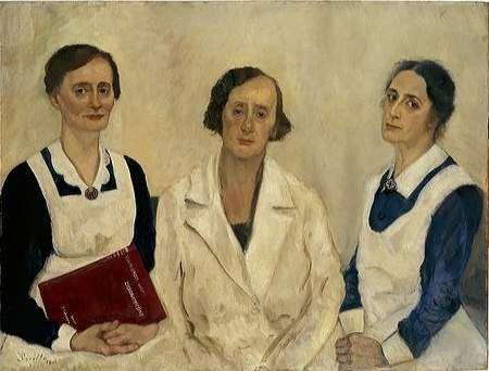 Een arts en twee verpleegsters