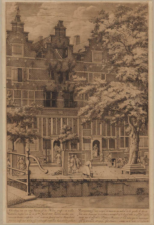 Blussing van brand aan de Heerengracht (25-26 april 1683).