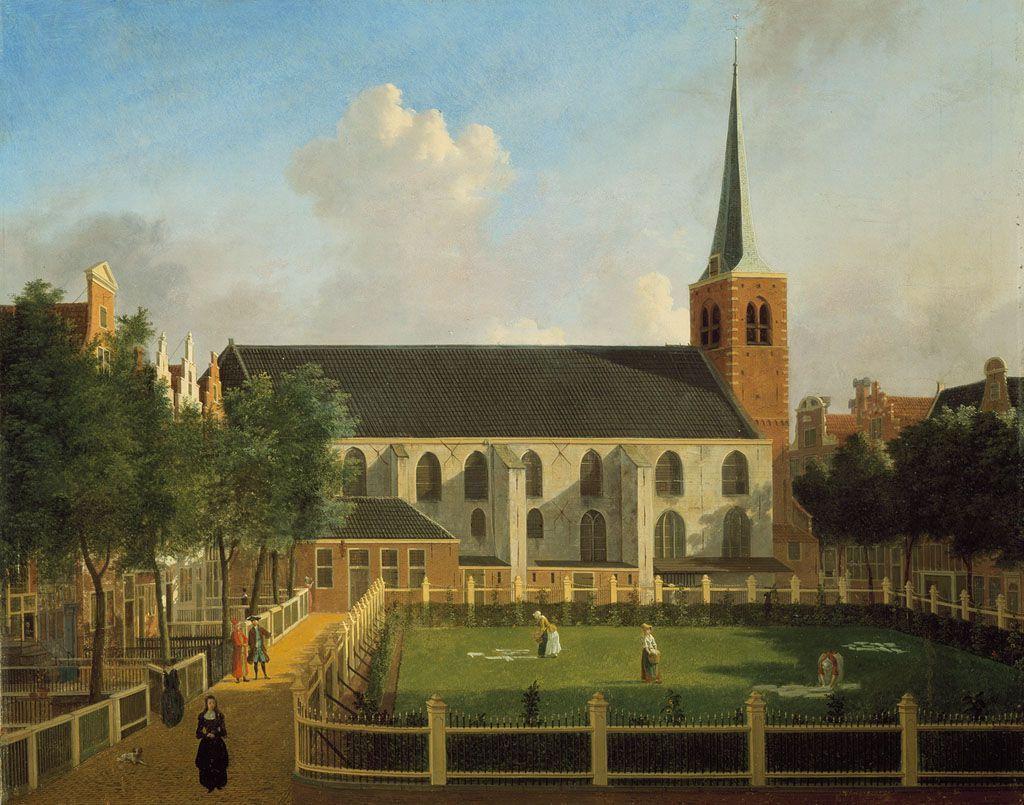 Het Begijnhof met de Engelse kerk