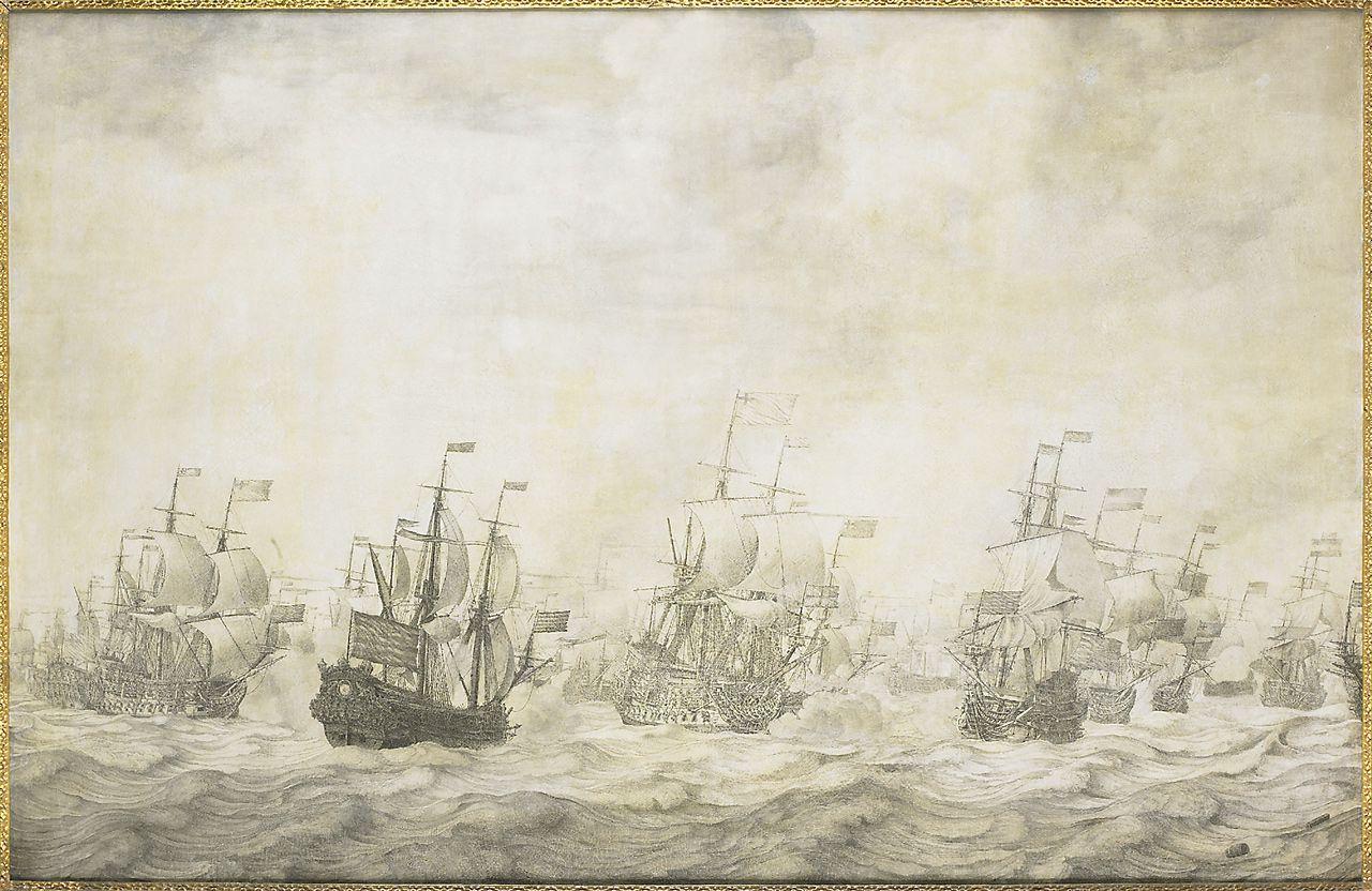 Episode uit de Vierdaagse Zeeslag.
