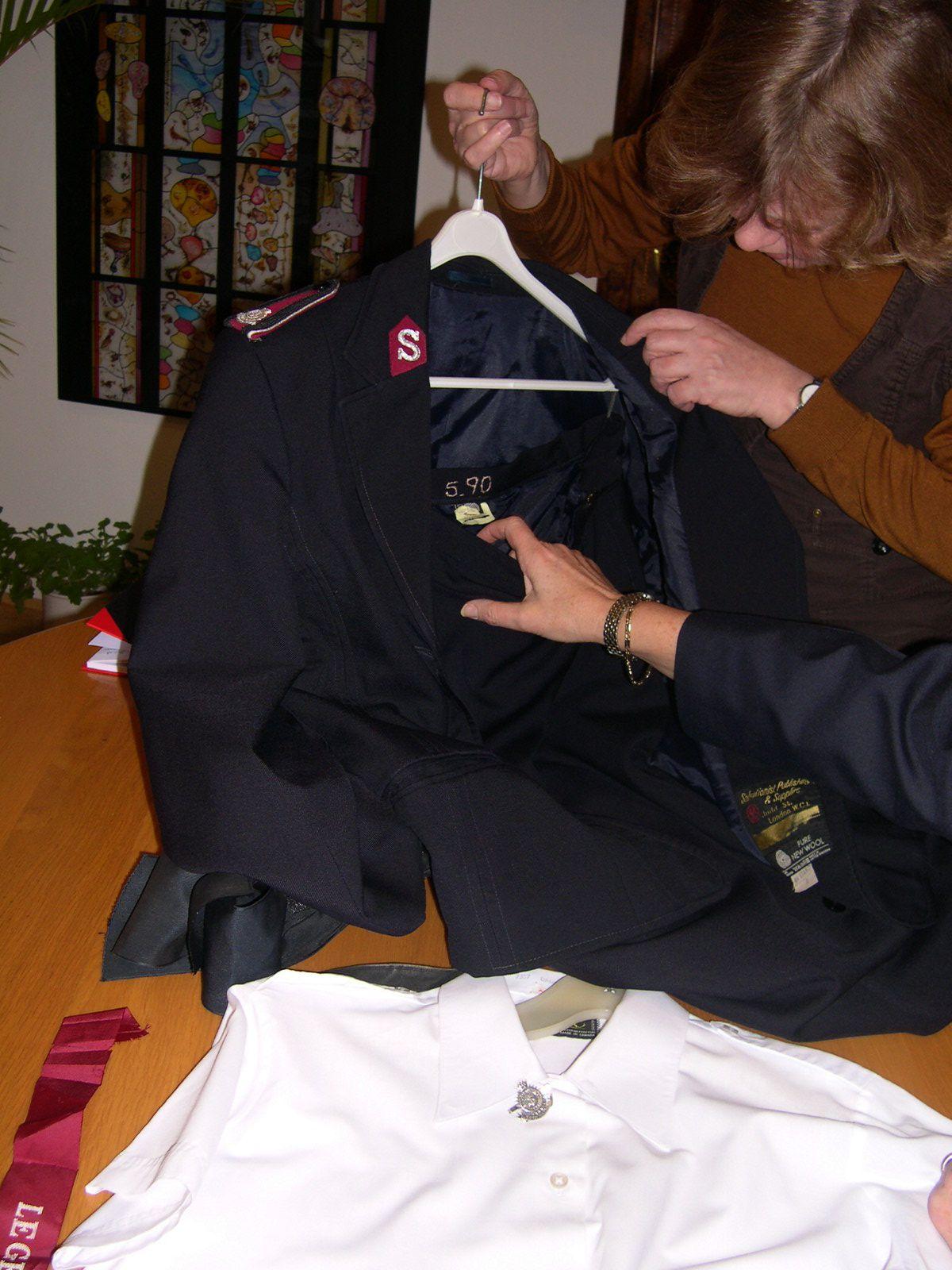 Uniform van majoor Bosshardt (1913-2007)
