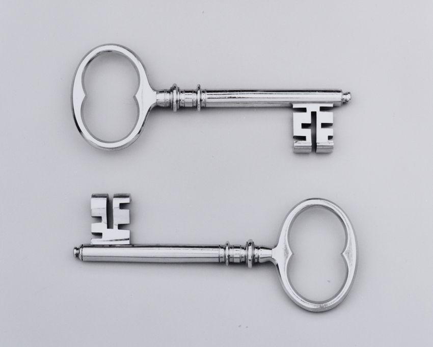 Twee sleutels van de stad Amsterdam.