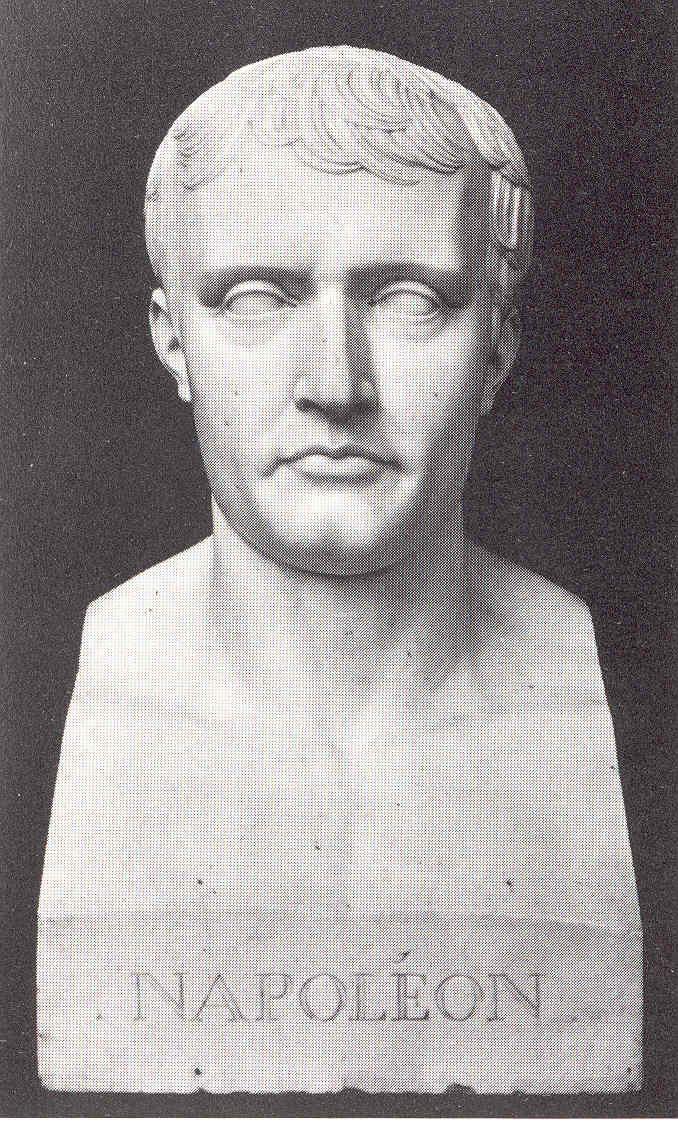 Borstbeeld van Napoleon.