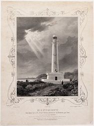 Monument ter eere van J.C.J. van Speyk, opgerigt te Egmond aan Zee [...] naar het plan en tekening van [...] J.D. Zocher, etc.