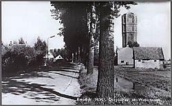 Kwadijk (N.H.). Dorsstraat en Watertoren