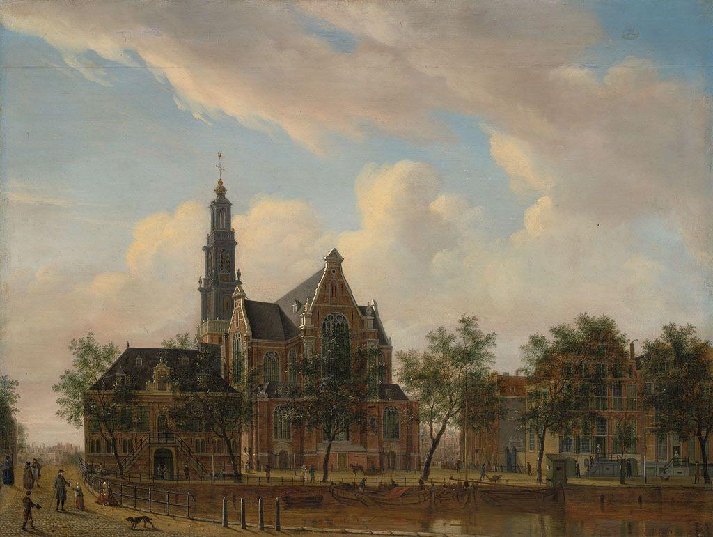 De Westerhal en de Westerkerk