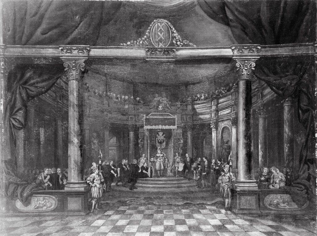 Keizer Maximiliaan verleent de stad Amsterdam het recht de keizerskroon in haar wapen te voeren (11 februari 1489)