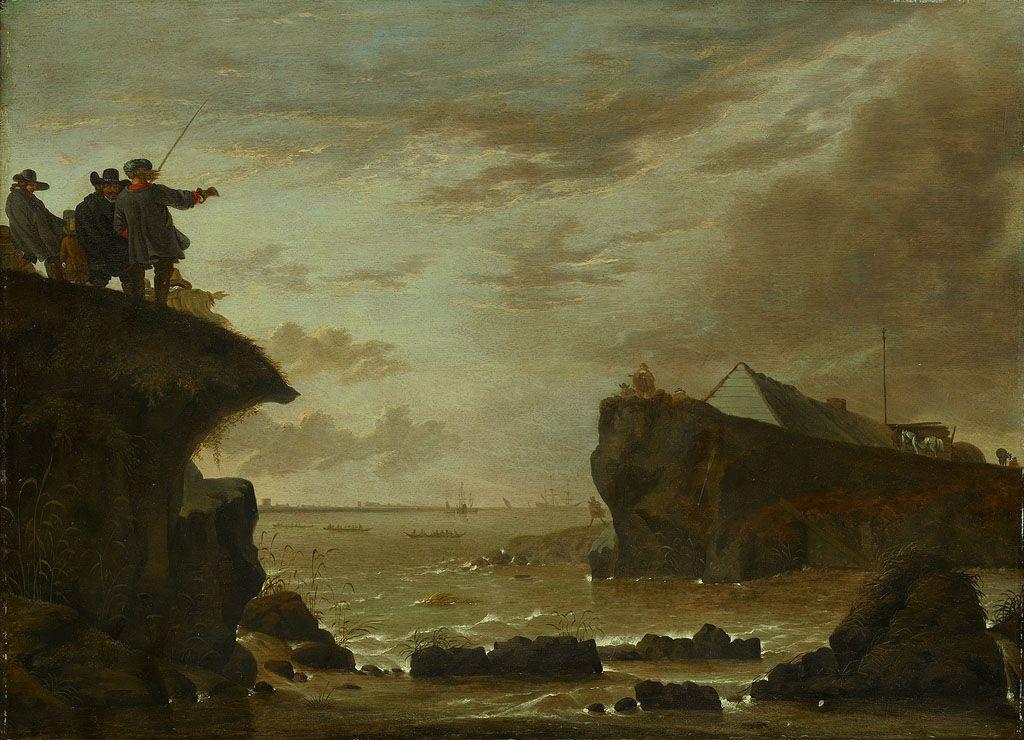 De doorbraak van de St. Anthonisdijk in 1651.