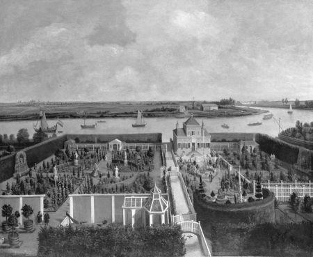 Hofsteden Vlietzorg en Zorgvliet aan het Buiten Spaarne bij Haarlem