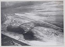 Het nieuwe drooggemalen land De Wieringermeer