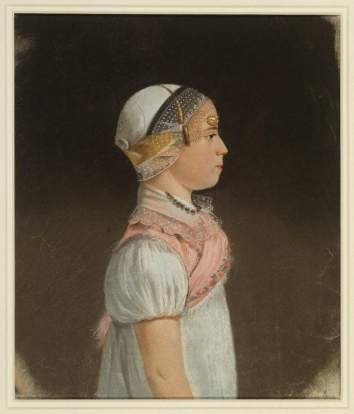 Portret van Maartje Jacobsd. Breet.