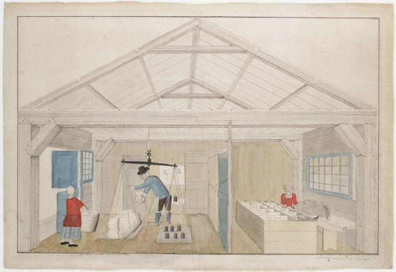 Pakkamer van het Papierbedrijf C & J Honig Breet