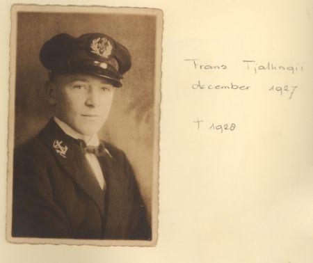 Foto: Familieboek Tjallingii