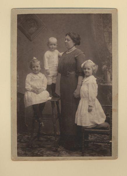 Foto: Familieboek Tjallingii.
