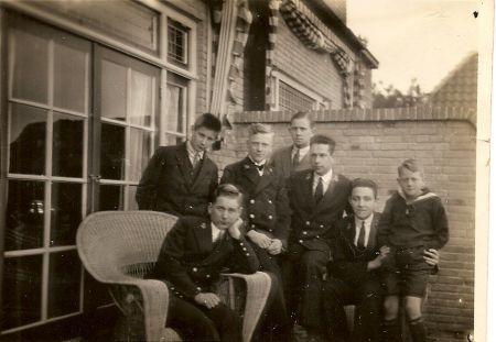 Foto: Collectie mw. Nel Collou - den Braven, Oudeschild, Texel en Familieboek Tjallingii.