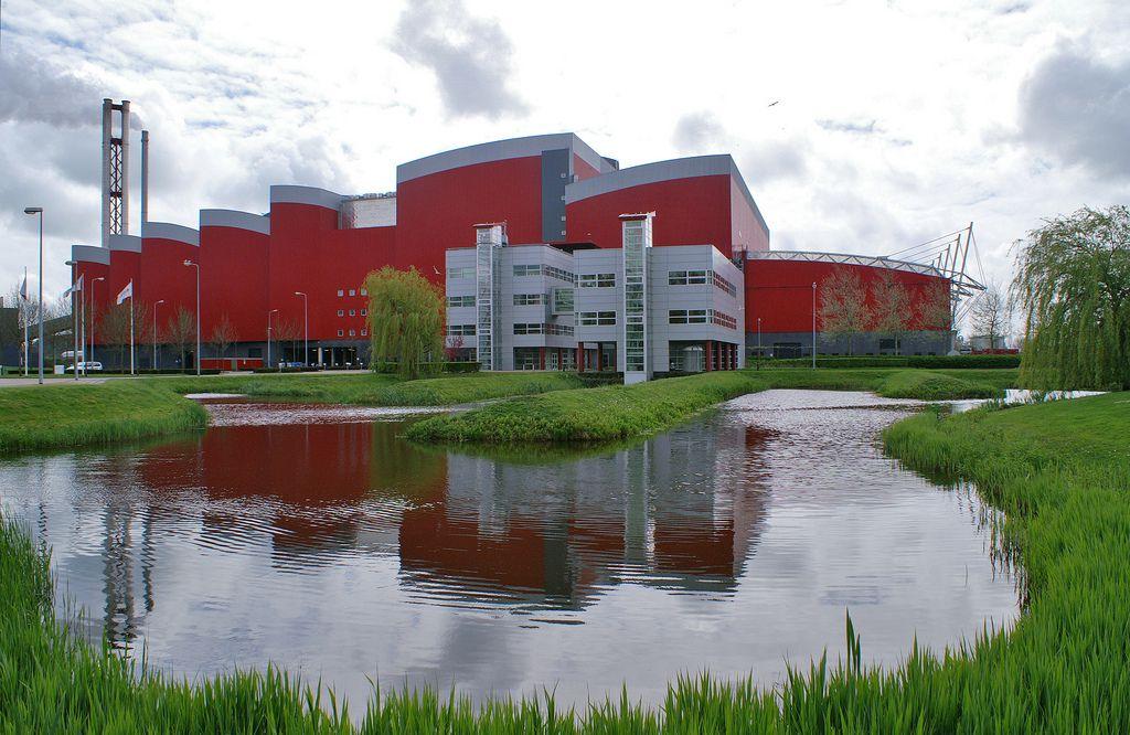 Huisvuilcentrale HVC Alkmaar in 2010.