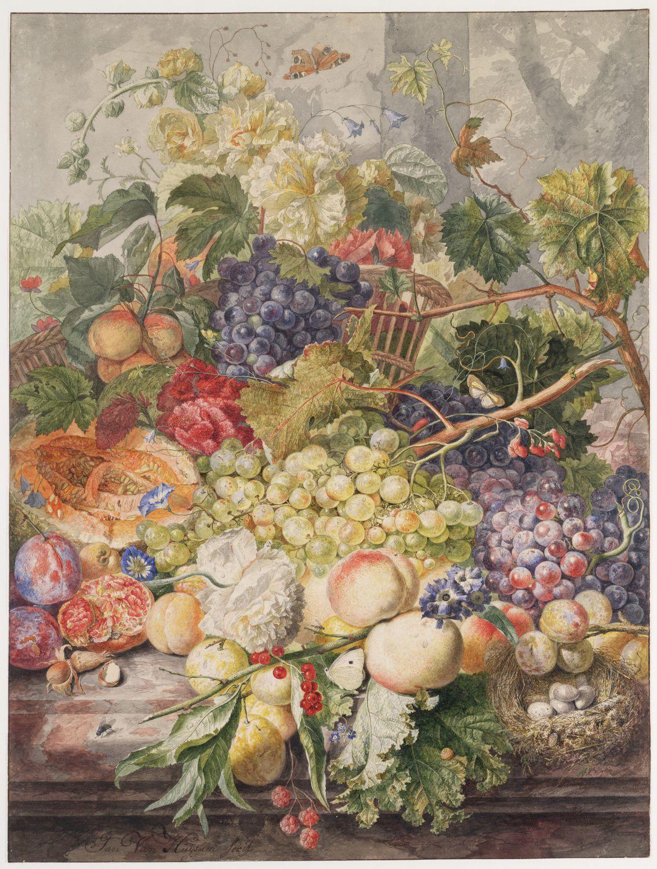 Jan van Huysum, Vruchtenstilleven