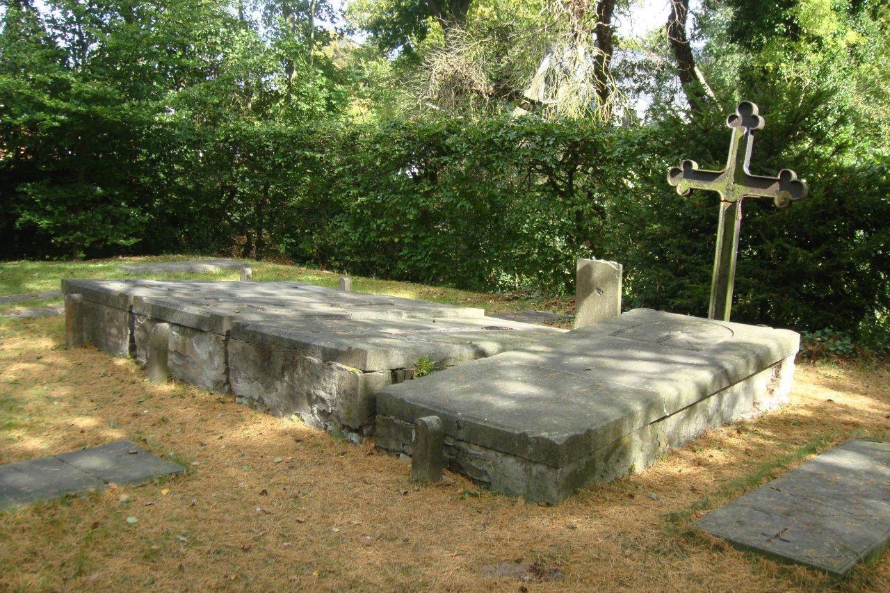 De oude begraafplaats, het r.k. gedeelte