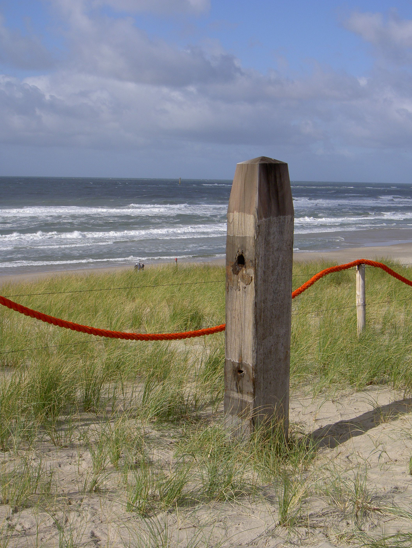 De Noordzee, vanaf de duinen van Texel.