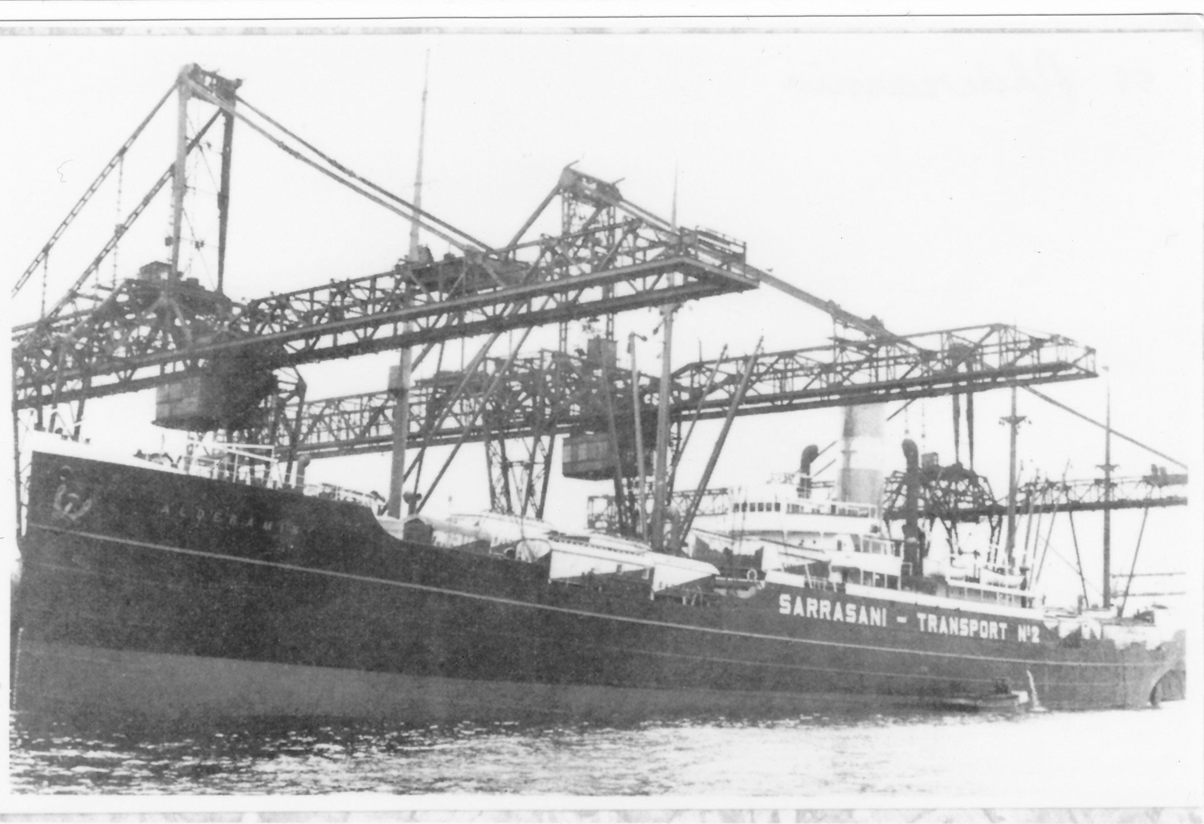 De Alderamin in 1934.