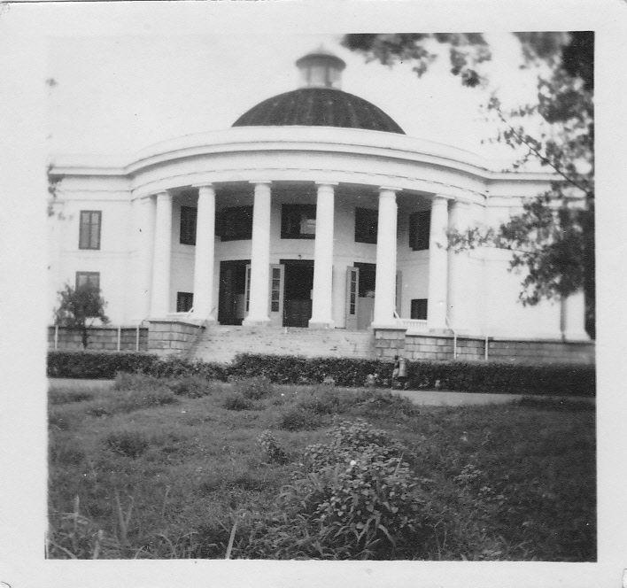 De Willemskerk in Batavia.
