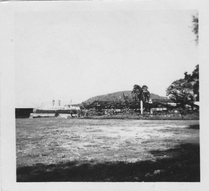 De Volendam in de haven van Sabang, 1948.