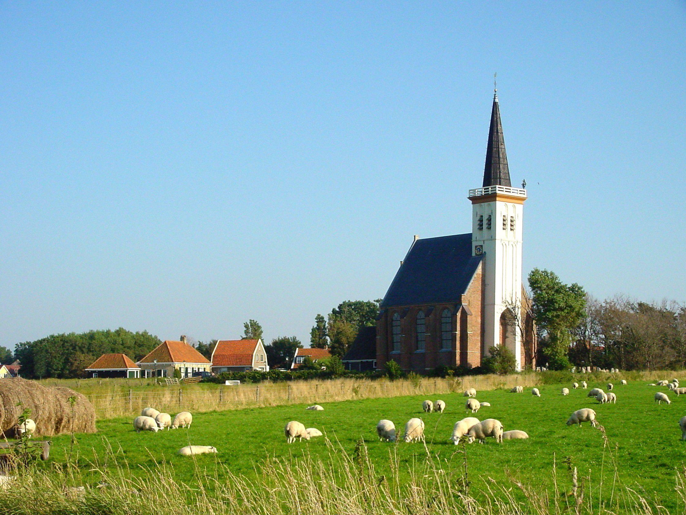 Nederlands Hervormde kerk van Den Hoorn.